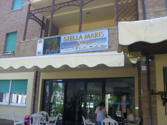 Hotel Stella Maris: entrata principale dell'hotel.