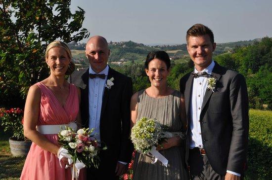 Isola d'Asti, Italy: Bröllop på Bricco San Giovanni