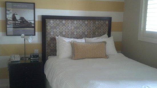 Pan American Hotel: Comfortable Queen size bed