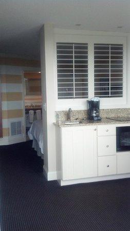 Pan American Hotel: Kitchen area