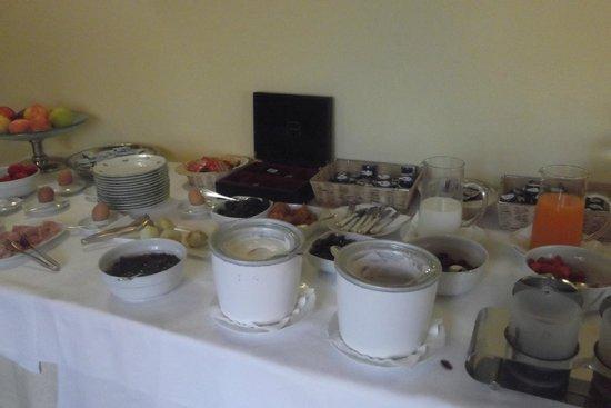 Hotel Osteria Dell'Orcia: Breakfast