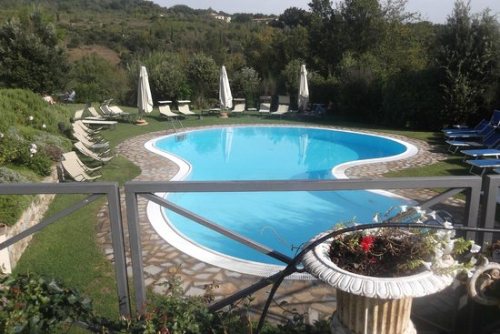 Hotel Osteria Dell'Orcia: The pool