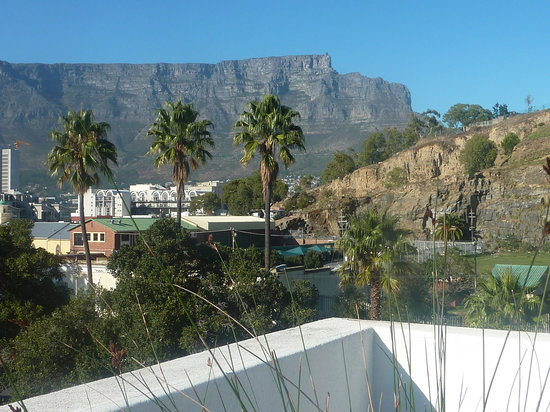 Cedric's Lodge: View from the rooftop terrace on Table Mountain