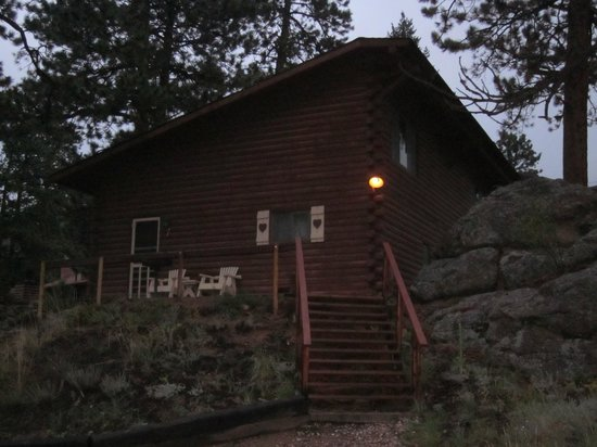 Blackhawk Lodges: quiet and peaceful with a view