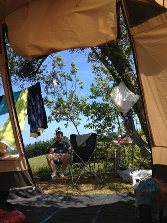 Camping Itxaspe: camping pitch