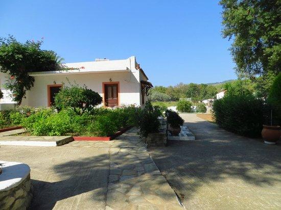Paraschos Studios: courtyard