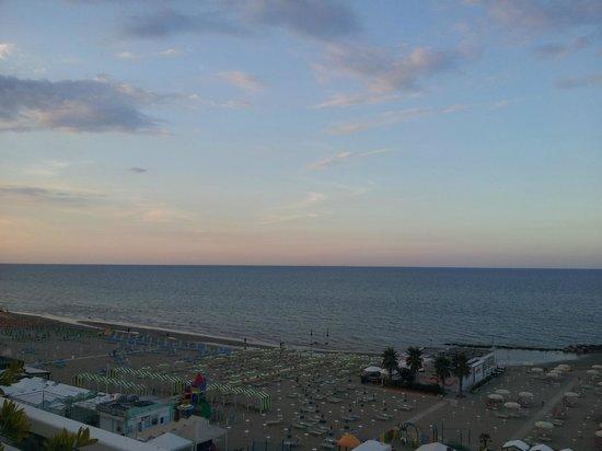 Hotel Augustus: Vista dalla terrazza panoramica