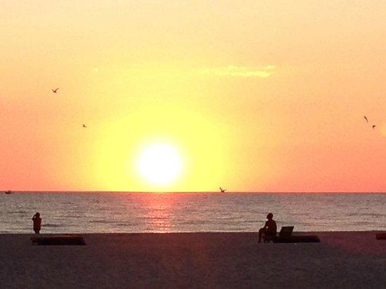 Plaza Beach Hotel - Beachfront Resort: a typical sunset