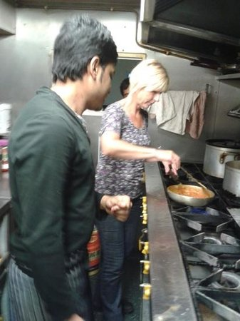The Curry Garden: cooking