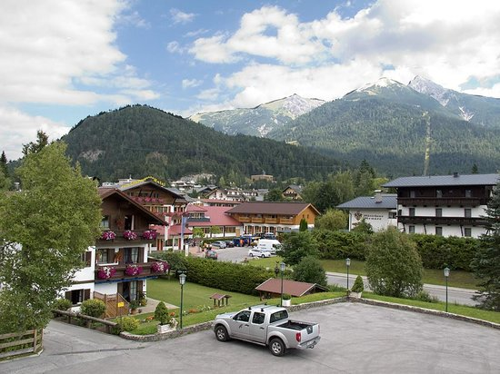 Hotel Alpina: View from our balcony