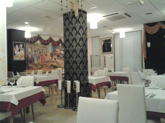 Rasoi Restaurant: Interior del restaurante
