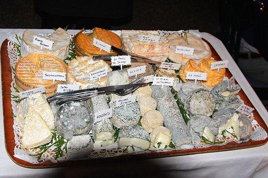 Auberge du Bon Terroir : il favolo vassoio di formaggi