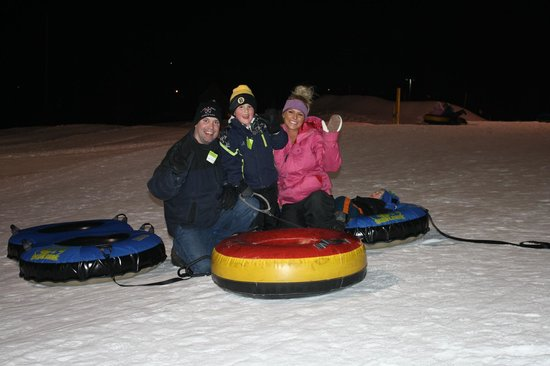 Windham, ME: Winter Tubin'