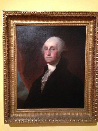 El Paso Museum of Art: Portrait of Washington