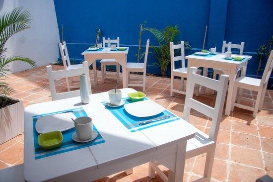 La Casa Azul: terraza