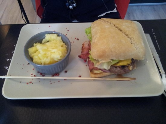 La Table 38 : Burger sucré salé