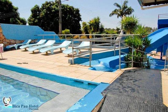 Bica Pau Hotel Thermas Deck Da Piscina Do Bar Aquático