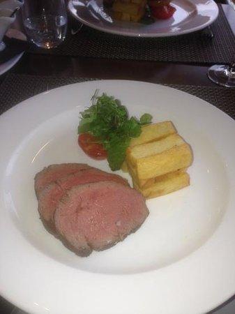 Rocca Restaurant : chateaubriand, delicious!