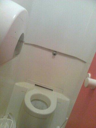 Hotel Class'eco Charleroi: wc