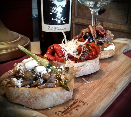 Scottsbluff, NE: Bruschetta Trio