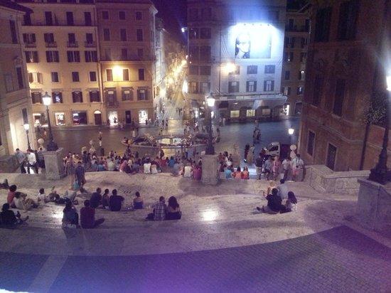 Hotel Forte: Spanish Steps at Night