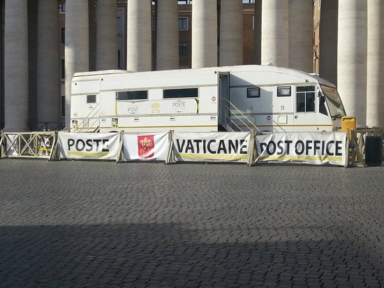 Hotel Forte: Mobile Vatican Post Office