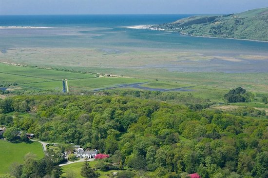 Ynyshir Restaurant and Rooms: Gliding above the Dyfi Valley