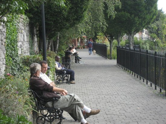 Blessington Street Park (The Basin): Taking a breather!!