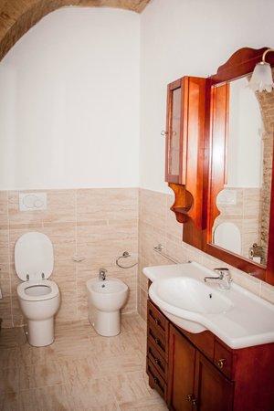 Villa Zara : bagno privato appartamento