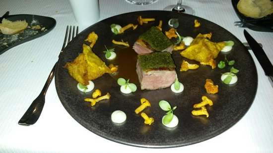Auberge Frankenbourg: A dish from the menu in the restaurant