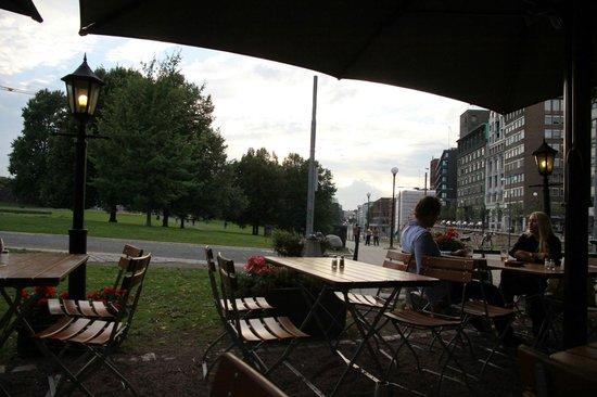 Cafe Skansen : Terraza 2