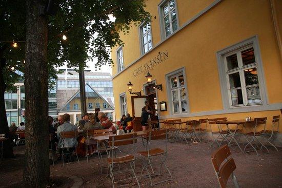 Cafe Skansen : Terraza 3