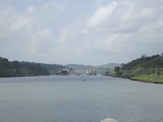 Panama Canal Tours: View of the Canal