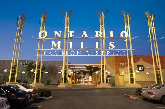 Онтарио, Калифорния: Welcome to Ontario Mills, located in Ontario California.