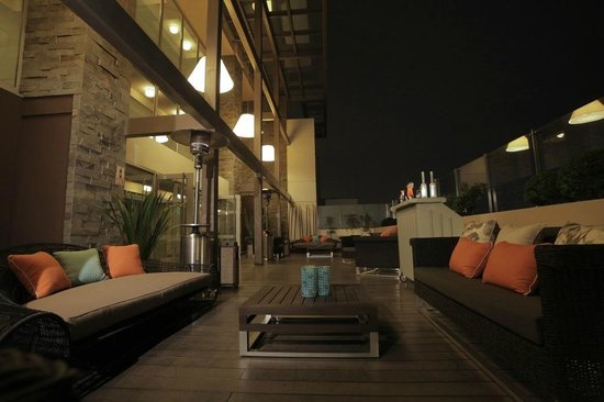 Four Points By Sheraton Miraflores: Terraza piso 13