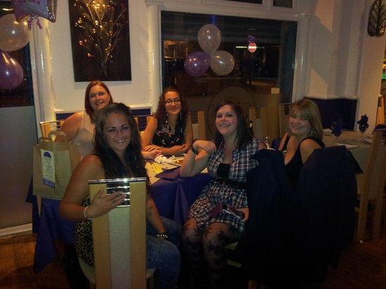 Shad Restaurant: Birthday girls