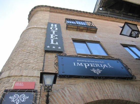 Imperial Hotel Toledo: Parte del edificio.