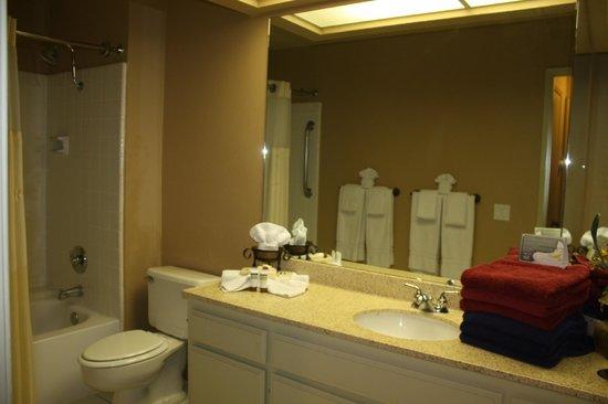 Welk Resort Palm Springs - Desert Oasis: Banheiro minuciosamente arrumado e impo.