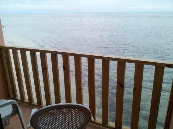 Hotel Parador Joyuda Beach: Balcón del la habitación