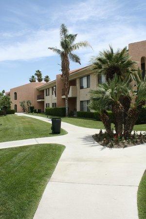Welk Resort Palm Springs - Desert Oasis: Caminho para os apartamentos