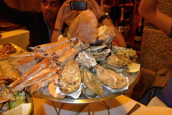 Le Cafe de Saint Malo : Plateau