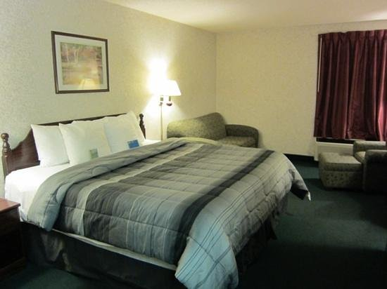 Days Inn Battlefield Rd/Hwy 65: King size bed