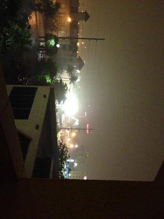 Regency Hotel Miami: Vista do apartamento