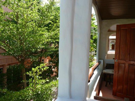 Koh Tao Toscana: terrasse vue sur espace verts