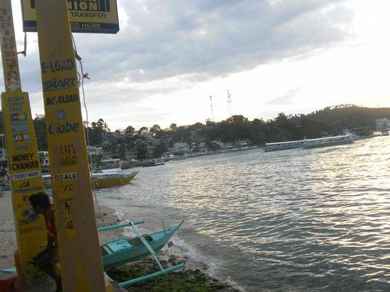 Sabang: Вид на город и бухту
