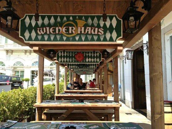 Wiener Haus: Dehor ristorante