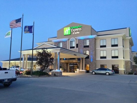 Holiday Inn Express Hotel Suites Goodland Front