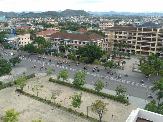 Indochine Palace: vistas a la calle
