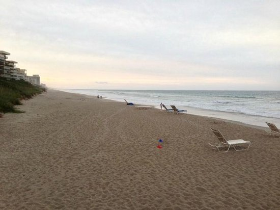 Crowne Plaza Melbourne Oceanfront: beach to north