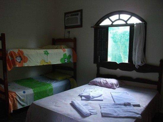Pousada Porto Escondido: Bed room suite
